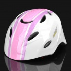 Cool Sports Cycling Helmet for Children - Pink + White