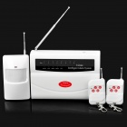 FK-9806 Wireless Intelligent Alarm System - White (AC 220V)