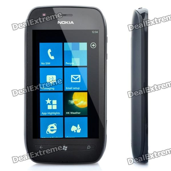 Nokia Lumia 710 Windows Phone 7.5/Mango WCDMA Smart Phone w/ 3.7 Capacitive, Wi-Fi and GPS - Black nokia n8 symbian^3 wcdma smartphone w 3 5 capacitive gps 12mp camera and wi fi grey 16gb