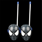 Cool Spiderman Style Walkie Talkie - Black + White (1 x 9V Battery / Pair)