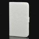 Protective PU Leather Case for Samsung Galaxy Note i9220 / N7000 / i9228 - White