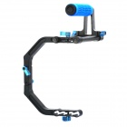 C-Shape Support Mount + Top Handle Grip DSLR Support System Rig
