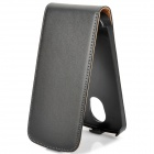 Protective Flip-Open Leather Case for Samsung Galaxy Nexus i9250 - Black