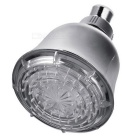 15-LED Water Temperature Visualizer Sensor Round Shower Head