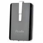 Proda 2200mAh Mobile External Power Battery Charger w/ 6 x Adapters - Black