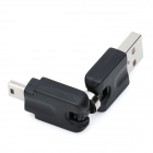 USB Male to Mini USB 5-Pin Male Connector Adapter