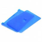 "Simple Design Frosted Protective PC Case for MacBook Air 11"" - Dark Blue"