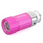 Car Cigarette Lighter Socket Rechargeable 0.5W 30-Lumen Mini LED Flashlight - Rose Red (DC 12V)