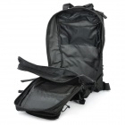 Outdoor Water Resistant Backpack Bag - Black
