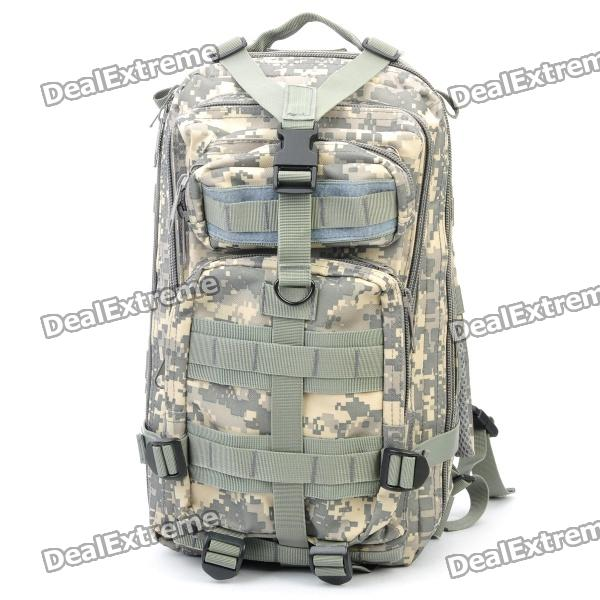 Outdoor Water Resistant Backpack Bag - Camouflage Color