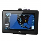 "7"" Resistive Screen Win CE 6.0 GPS Navigator w/ FM Transmitter / 4GB USA Map TF / Built-in 4GB"