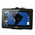 "7"" Resistive Screen Win CE 6.0 GPS Navigator w/ FM Transmitter / 4GB Brazil Map TF / Built-in 4GB"