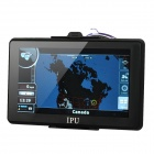 "7"" Resistive Screen Win CE 5.0 GPS Navigator w/ Bluetooth / AV-IN / FM Transmitter / Canada Map"