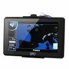 "7"" Resistive Screen Win CE 5.0 GPS Navigator w/ Bluetooth / AV-IN / FM Transmitter / Europe Map"