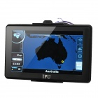 "7"" Resistive Screen Win CE 5.0 GPS Navigator w/ Bluetooth / AV-IN / FM Transmitter / Australia Map"