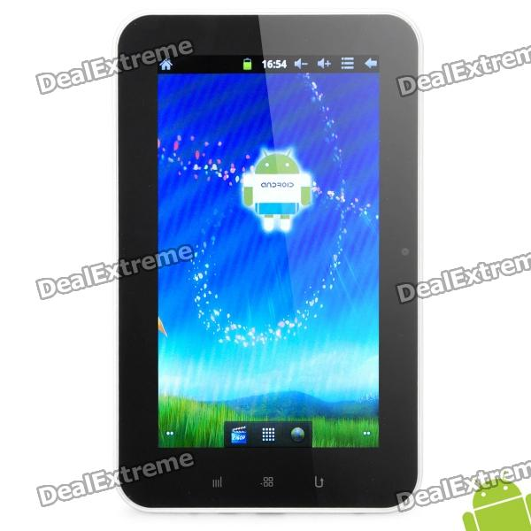 "6.8 ""capacitieve scherm Android 2.3 tablet w / WiFi / Camera / HDMI / TF - Zwart + Wit (A10 / 4GB)"