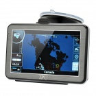 "5"" Resistive Touch Screen Win CE 5.0 GPS Navigator w/ Bluetooth / FM Transmitter / 4GB Canada Map TF"