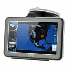 "5"" Resistive Touch Screen Win CE 5.0 GPS Navigator w/ Bluetooth / FM Transmitter / 4GB USA Map TF"