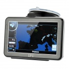 "5"" Resistive Touch Screen Win CE 5.0 GPS Navigator w/ Bluetooth / FM Transmitter / 4GB Europe Map TF"