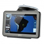 "5"" Resistive Touch Screen Win CE 5.0 GPS Navigator w/ Bluetooth / FM Transmitter / 4GB Brazil Map TF"