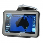 "5"" Resistive Touch Screen Win CE 5.0 GPS Navigator w/ Bluetooth / 4GB Australia Map TF"