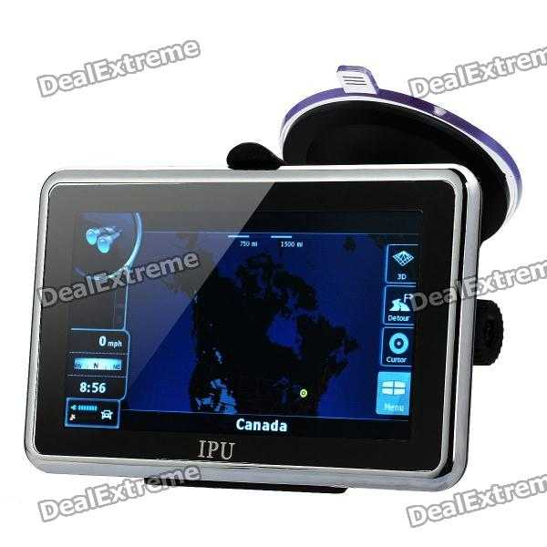 "4.3"" Resistive Screen Win CE 6.0 GPS Navigator w/ FM Transmitter / 4GB Canada Map TF / Built-in 4GB"