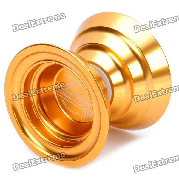 AODA Stainless Steel Yo-Yo Toy - Golden aoda plastic yo yo toy green