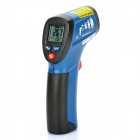 "DT-812 0.9"" LCD IR Infrared Thermometer - Blue (1 x 9V 6FF22 Battery)"