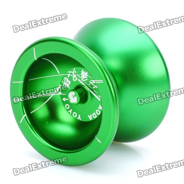 Stainless steel aoda yo-yo - green