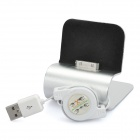 USB Charging Docking Station for iPhone 4 / 4S - Silver