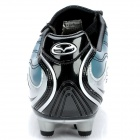 Outdoor Football Soccer Shoes - Black + Silver + White (Size-44)