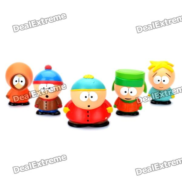 Cute South Park Mini Display Figure Toys (5-Piece Pack)