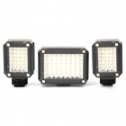 Mini HD K160 + K160 + K320 LED Video Light with Filter Set