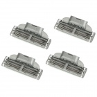 Gillette Mach3 Turbo Replacement 3-Blade Razor Cartridges (4-Piece Pack)