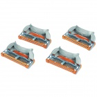 Gillette Fusion Power Replacement 5-Blade Razor Cartridges (4-Piece Pack)