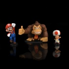 Super Mario Figure PVC Display Toy w/ Base (3-Piece Pack)