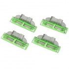 Replacement 3-Blade Razor Cartridges (4-Piece Pack)