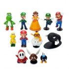Cute Super Mario Cartoon Figures Toys (12-Piece Set)