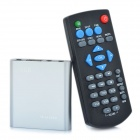 Mini 1080P Full HD Multi-Media Player w/ HDMI / USB / SD / AV/Optical / YPbPr - Silver (4GB)
