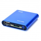 Mini 1080P Full HD Multi-Media Player w/ HDMI / USB / SD / AV/Optical / YPbPr - Blue (4GB)