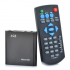 Mini 1080P Full HD Multi-Media Player w/ HDMI / USB / SD / AV/Optical / YPbPr - Black (4GB)