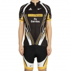 2012 Livestrong Team Short Sleeve Cycling Bicycle Bike Riding Suit Jersey + Shorts Set (Size-L)