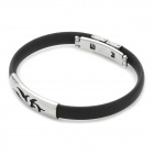 Titanium Pressure Reduction Magnetic Bracelets Bangles (Black)