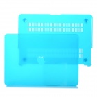 "Protective Frosting PC Front & Back Case for Apple MacBook Pro / Air 13"" / 13.3"" Laptop - Light Blue"