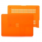 "Protective Frosting PC Front & Back Case for Apple MacBook Pro / Air 13"" / 13.3"" Laptop - Orange"