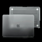 "Protective Frosting PC Front & Back Case for Apple MacBook Pro/Air 13"" / 13.3"" Laptop - Transparent"