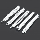 Cotton Strap for Yo-Yo Ball - White (5-Piece Pack)