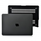 "Protective Frosting PC Front & Back Case for Apple MacBook Air 13"" / 13.3"" Laptop - Black"