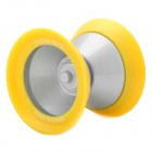AODA Plastic YO-YO Toy - Yellow + Silver