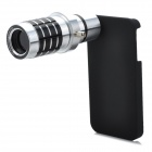 Genuine JEC 12X Telephoto Zoom Lens Set for Iphone 4S - Silver